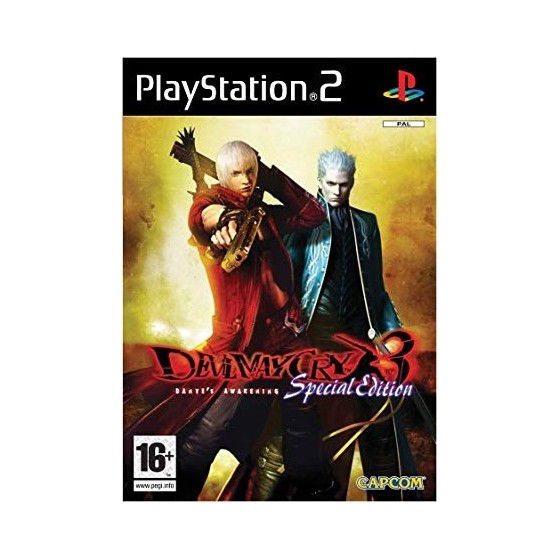 Devil May Cry 3 - Special Edition - PS2