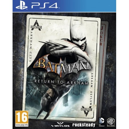 Batman Return to Arkham HD Collection - PS4