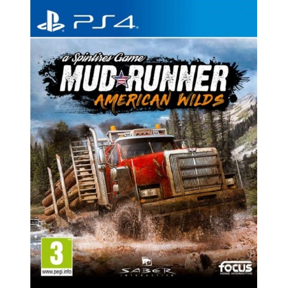 Spintires: Mudrunner - American Wilds - PS4