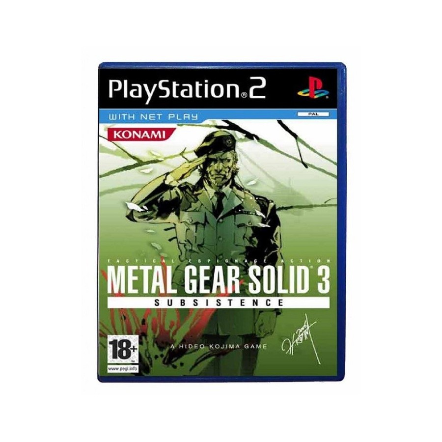 Metal Gear Solid 3 Subsistence - PS2