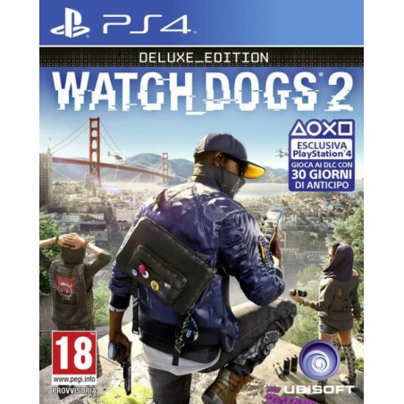 Watch Dogs 2-Deluxe Edition PS4