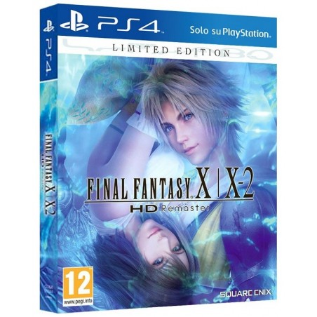 Final Fantasy X   X-2 HD Remaster - Limited Edition - PS4