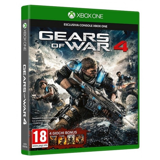 Gears of War 4 - Xbox One usato