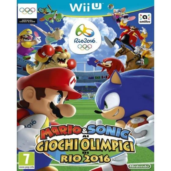 Mario & Sonic ai Giochi Olimpici di Rio 2016 wii u