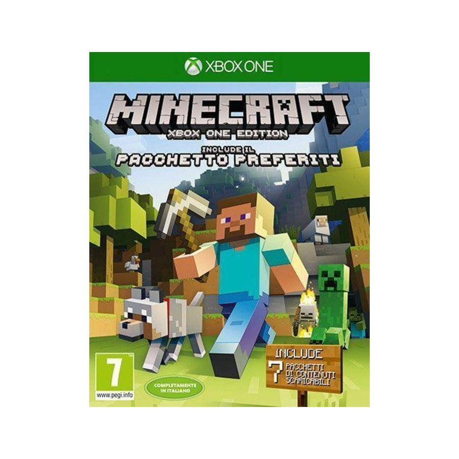 Minecraft Favorites Pack Edition - Xbox One