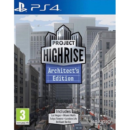 Project Highrise: Architect Edition - PS4