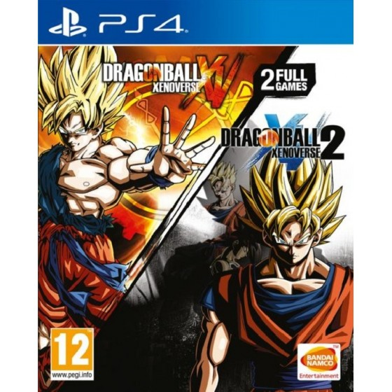 Dragon Ball Xenoverse e Dragon Ball Xenoverse 2 - PS4