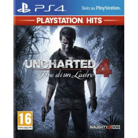 Uncharted 4 - Fine di un Ladro - Playstation Hits - PS4