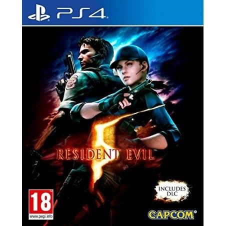 Resident Evil 5 HD - PS4