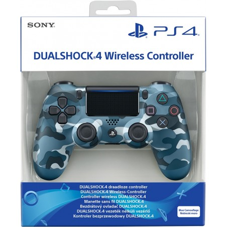 DUALSHOCK 4 Wireless Controller - Blue Camouflage