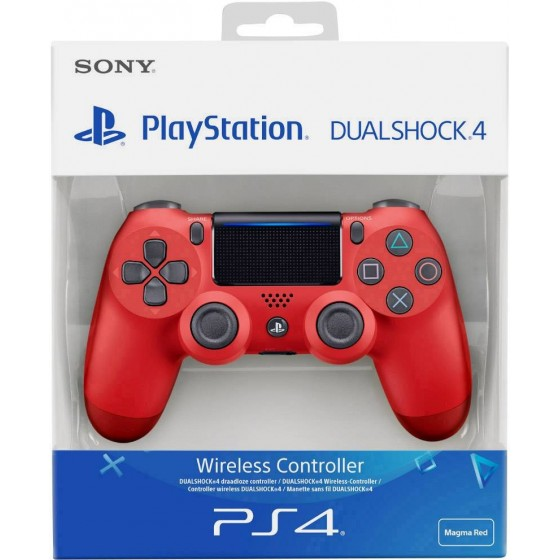DUALSHOCK 4 Wireless Controller - Rosso