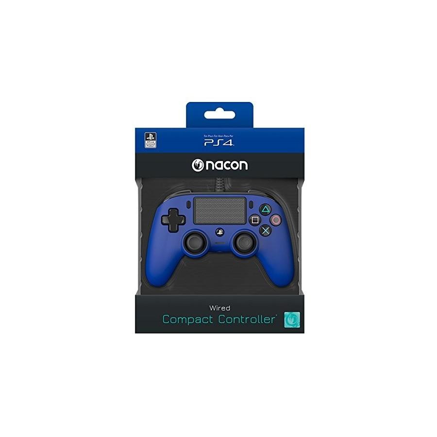 Compact Controller Nacon - Blu - PS4