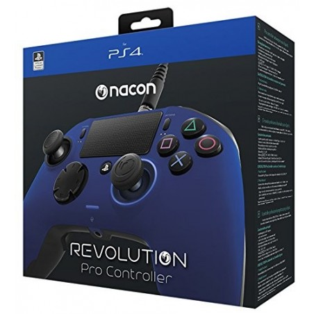 Nacon Revolution Pro Controller Wired - Blu - PS4