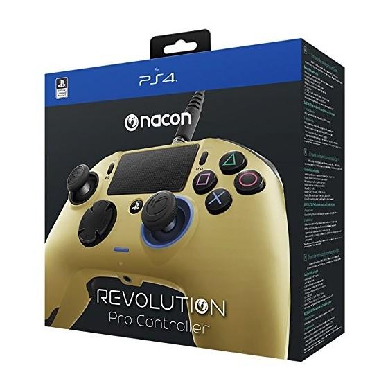 Nacon Revolution Pro Controller Wired - Oro - PS4