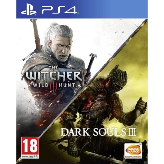Dark Souls III e The Witcher 3 : Wild Hunt - PS4
