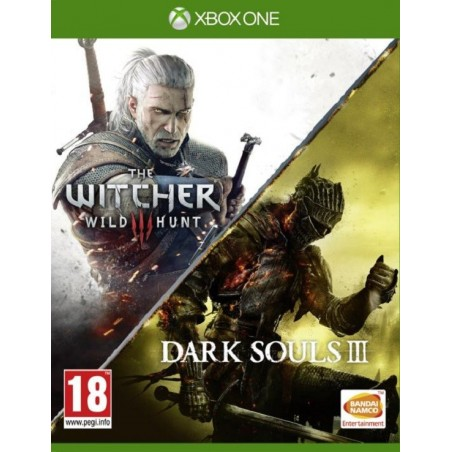 Dark Souls III e The Witcher 3 : Wild Hunt - Xbox One