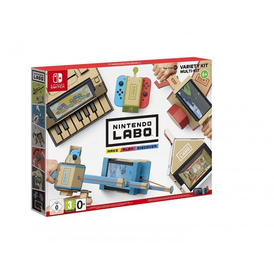 Nintendo Labo 01 Variety Kit - Switch
