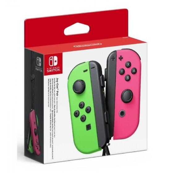 Joy-Con Controller Set Neon Verde/Rosa - Switch